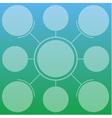Light info-graphics template on gradient backgroun