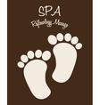 spa therapy design vector image