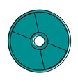 cd or compact disc icon image vector image vector image