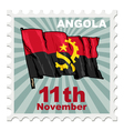 national day of Angola vector image vector image