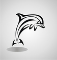 Tribal Dolphin vector image vector image
