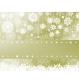 Elegant christmas background with snowflake EPS 8 vector image