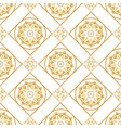 a gold seamless pattern for card vector image