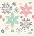 abstract seamless pattern with decorative vector image