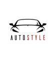 auto shop car logo icon
