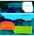 colorful paper for speech torn paper vector image