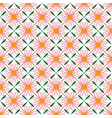 flower geometric abstract seamless pattern vector image vector image