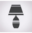 household lamp icon vector image