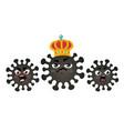 icons coronavirus vector image