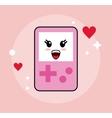 Kawaii icon Game control Cartoon design vector image
