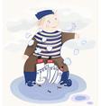 Little Sailor Boy vector image