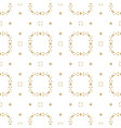 ornamental seamless pattern subtle abstract gold vector image vector image