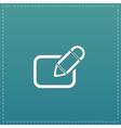 Registration icon vector image vector image