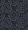 seamless background with circles vector image