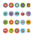 Shopping Icons 5 vector image