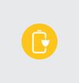 advanced saving battery icon vector image