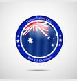 australia labor day background vector image