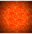Background with Geometric Triangles Old Mosaic vector image vector image