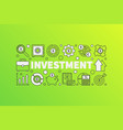 bright finance vector image