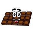 Cartoon chocolate vector image vector image