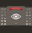 eye icon symbol vector image