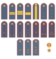 Insignia Russian police vector image vector image