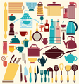 kitchenware set - vector image vector image