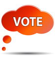 Vote icon vector image