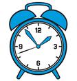 Classic alarm clock vector image