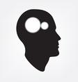 Creative brain concept vector image