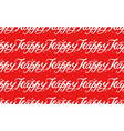 happy - lettering pattern hand written text vector image vector image