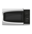 microwave oven 01 vector image vector image