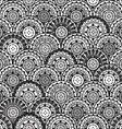 Oriental ornaments seamless in Japanese style vector image vector image