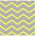 seamless yellow grey zig zag texture vector image vector image