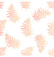 foliage fuzzy orange vector image