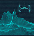 big data visualization background 3d data