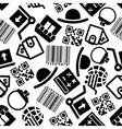 Ecommerce and online shopping seamless pattern vector image vector image