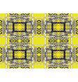 ethnic stylized pattern vector image vector image