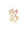 geometry icon design vector image vector image
