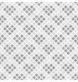 gray and white rounded diamond pattern with vector image vector image
