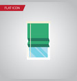 isolated glazing flat icon balcony element vector image vector image