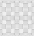 white wicker background vector image