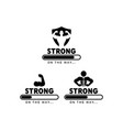 gym fitness graphic design template isolated vector image
