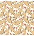 Kittens seamless pattern vector | Price: 1 Credit (USD $1)