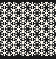 ornamental geometric texture abstract monochrome vector image vector image
