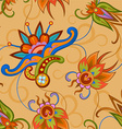Seamless colorful pattern in asian style vector image