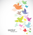 Bird design vector image vector image