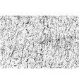 black grainy texture isolated on white background vector image vector image