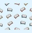 doodles book pattern background vector image vector image