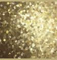 golden glitter background vector image vector image